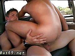 Young man gay porn sex first time Round Ass On The BaitBus