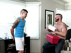 DylanLucas Young Stud Experiments With Landlord  scene 2