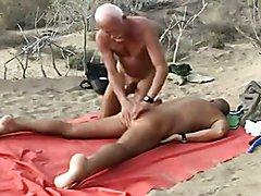 Guys in dunes