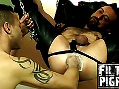 Hardcore rimming anal and fisting with horny partners