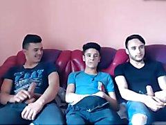 3 Cute Romanian Boys Go Gay On Cam, Damn Dat Hairy Big Ass