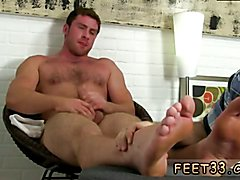 Foot doctor gay male tube and young male bare feet Connor Gets Off Twice Being Worshiped