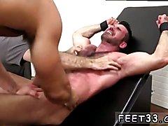 Cock sucking through boxers gay porn video Billy Santoro Ticked Naked