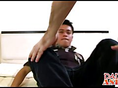 Asian twink wants to try mature cock