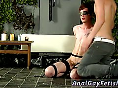 Bondage boy young shirtless and free movietures of cock and ball bondage gay Cody Gets A