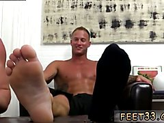 Goth gay boy sex full length Dev Worships Jason James' Manly Feet