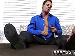 Broke smooth boy hot gay sex Hunter Page & Cameron Worship Each Others Feet