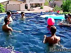 Africa hung penis gay sex Pool Party Bareback Boys