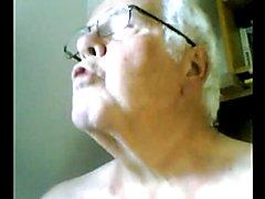 grandpa cum on cam  scene 8