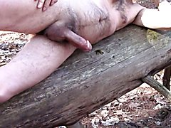 Slow Motion Multiple Orgasms on a Log - Spunk is Sexy #8