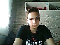 Spanish Cute Boy Cums On Cam, Very Nice Cock
