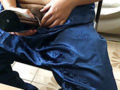 Chinese silk pants and Tenga Flip Hole