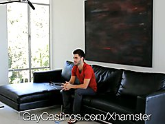 HD GayCastings - Josh Hairy asshole is pounded by the castin  scene 2