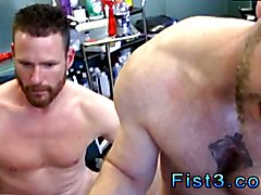 Gay twink boy fisting movie and boys getting fist fucked first time First Time Saline