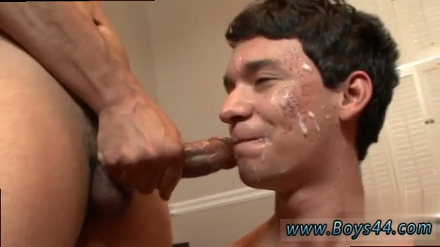 Latin Twink Sucking Cock Before Cumshot