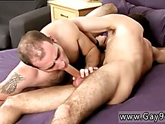Drain actual straight guys dick by old fag videos gay After lovin' Brian's first on