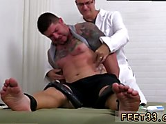 Manchester gay feet Clint Gets Naked Tickle  Treatment