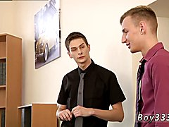 Guys having anal sex with no lube gay porn first time Riding Hard Cock In The Office