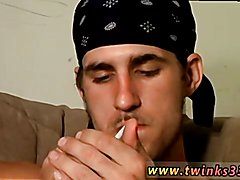 Big hole ever porn movies and gay men total shaved hairless body porn Buddies Smoke Sex