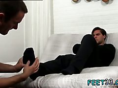 Slave gay foot fetish porn and young boys gay feet play Cameron Worships Aspen's Feet &