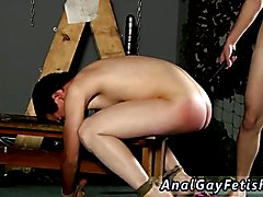 Naked young hairless gay men in bondage first time A Red Rosy Arse To Fuck