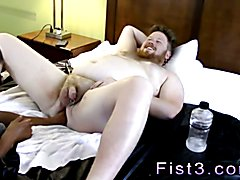 Film penis in gay man ass Sky Works Brock's Hole with his Fist