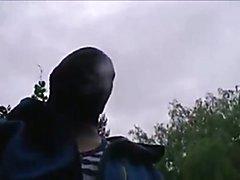 Boy in the woods  scene 2
