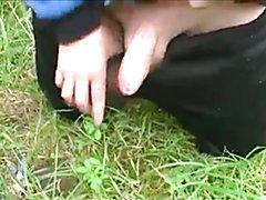Boy in the woods  scene 3