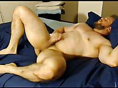submissive bi football jock ohmibod ass play