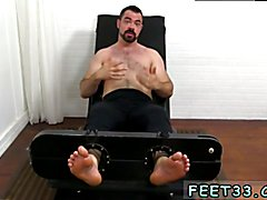 Mature guys shaved legs and small gay twinks feet full length Dolan Wolf Jerked & Tickled