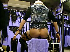 ASS SERVANT PERFECT TOY FOR STRETCH URESELF WIDER,,,UP