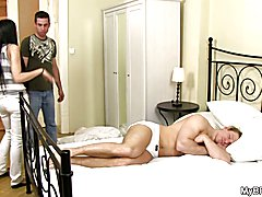 Finding him fucking with gay buddy