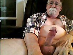 grandpa cum on cam  scene 83