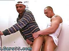 Gay seduce twink porn videos Tristan and John Magnum got it on in the staircase of an