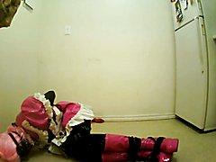 Sissy Self Bondage Box Tie