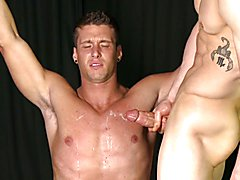 Straight Stud Sucks Big Cock - Is Stretched