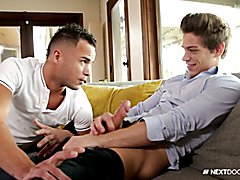 NextDoorBuddies Best Friends Play With Each Others Cock