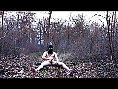 aftrekken in het bos