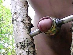 Good masturbation in forest 2