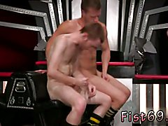 Free gay cumshot sequence Seamus O' Reilly is stacked on top of Brian Bonds atop a padded