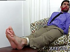 Chase LaChance Tied Up, Gagged & Foot Worshiped Hot gay