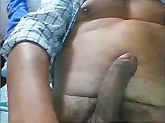 Hot daddy stroke fat dick  scene 3