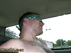 Straights swallows cum for cash gay Gorgeous Day For Anal Sex On The Baitbus!