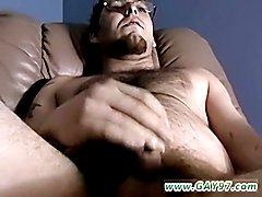 Naked guys big dicks and cumming and advanced gay masturbation gays Brad Gets Blown Good