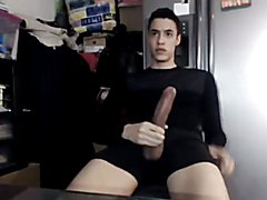 Handsome Latin Guy with huge beautiful cock