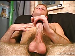 Muscular Twink Jamie Jacks Off