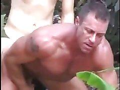 Boy Fucks Muscle Man