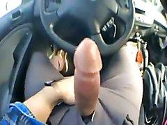Jerk off in Truck