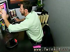 Bryan Slater Caught Jerking movies gay twink wood