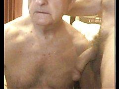 grandpa suck on cam